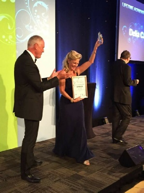 Delia Cannings Wins AHCP Life Time Achievement Award